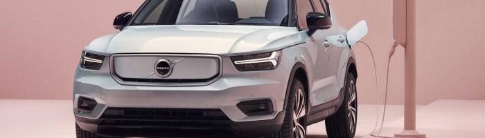 Volvo XC40 Recharge (electric) lansat: pana la 400 km autonomie