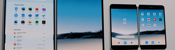 Microsoft a lansat un telefon pliabil cu Android