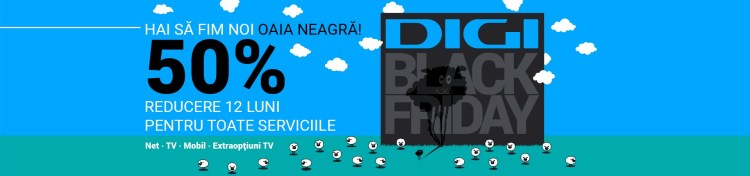 Black Friday incepe si la Digi