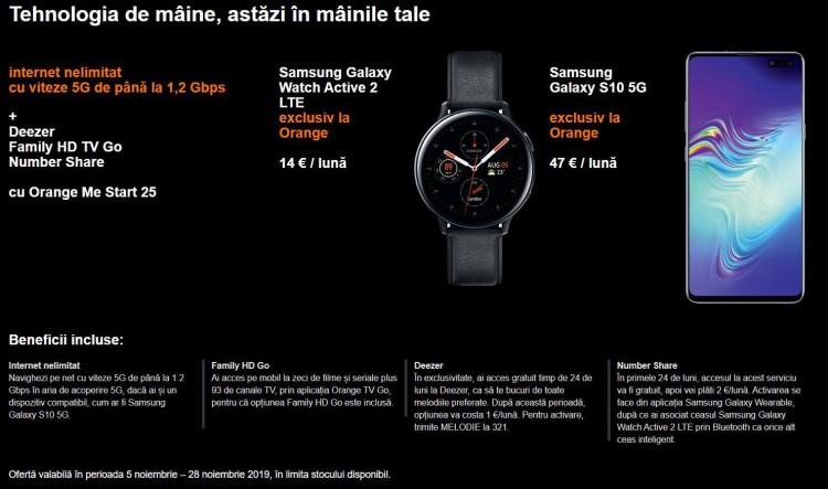 Orange a lansat reteaua 5G in Romania