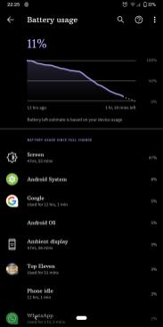 Google Pixel 3a XL baterie3