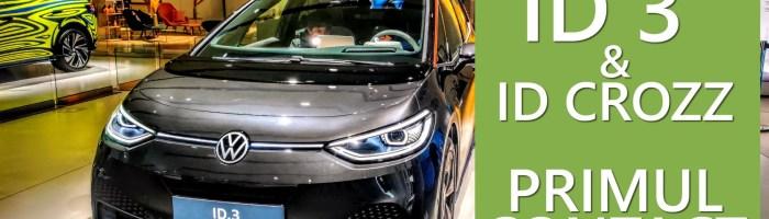 Cum arata VW ID3, ID CROZZ si alte modele electrice vazute la DRIVE in Berlin