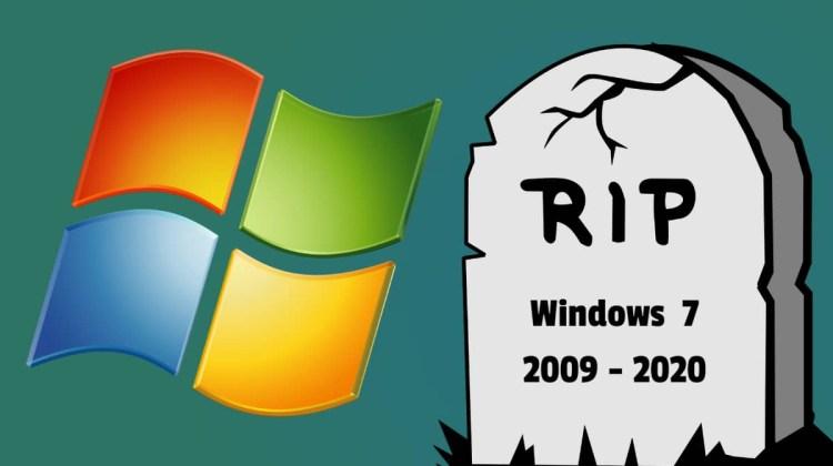 Windows 7 end of life începând de astăzi. Nu va mai primi actualizări de securitate