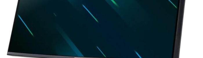 Acer a prezentat un nou monitor de gaming din gama Predator