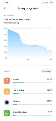 Redmi Note 8T baterie