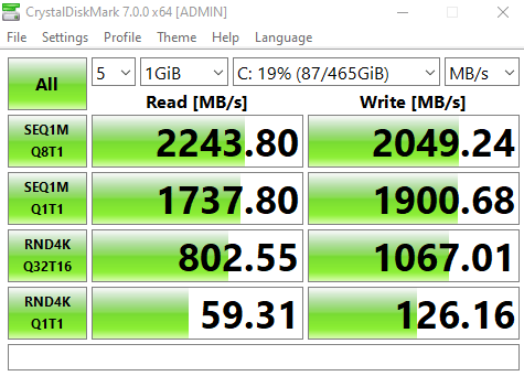 SSD benchmark (1)