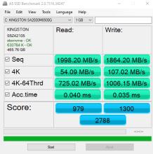 SSD benchmark (2)