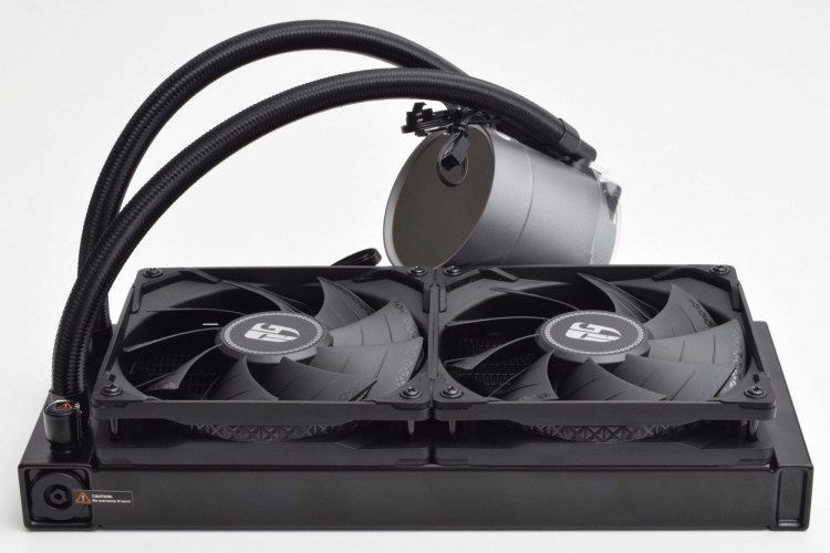 Review cooler all-in-one Deepcool Gamer Storm Castle 240 EX