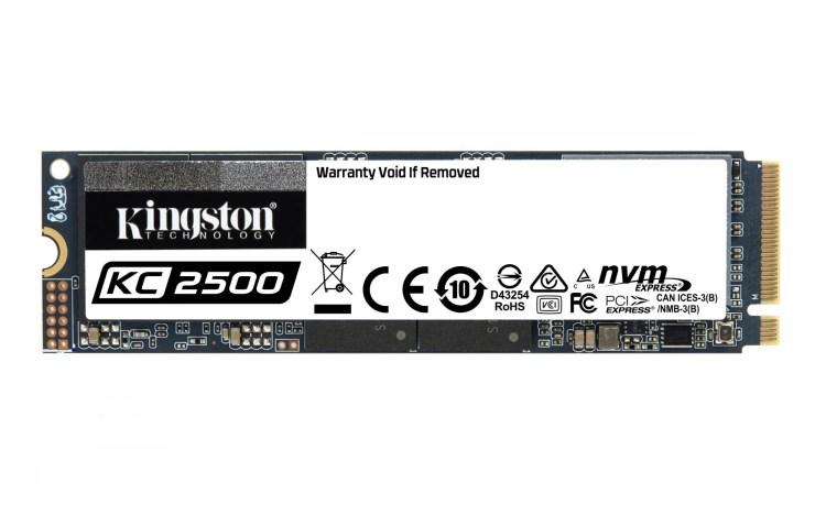 Kingston lanseaza SSD-ul KC2500 NVMe PCIe