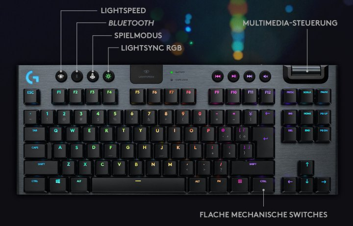 Logitech a lansat tastatura G915 TKL