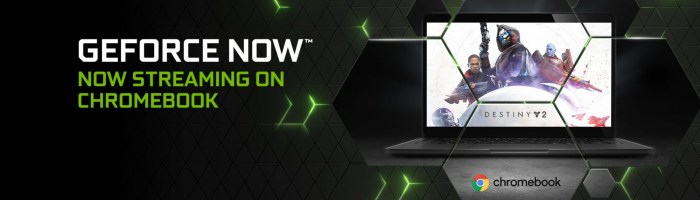 GeForce NOW acum si pe Chromebook