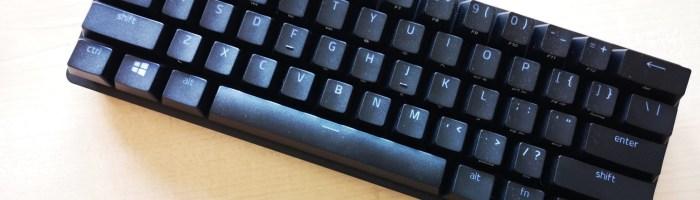 Review tastatura Razer Huntsman Mini - 60% dintr-o tastatura normala
