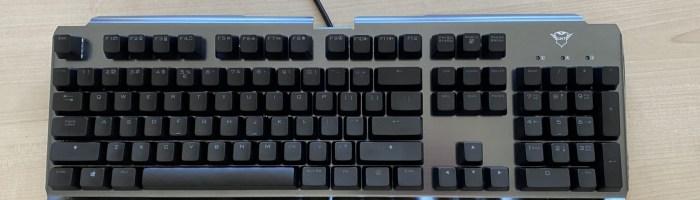 Review Trust GXT 877 Scarr - tastatura mecanica cu constructie metalica
