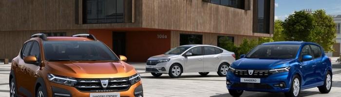 Dacia a publicat primele imagini oficiale cu noile Logan si Sandero