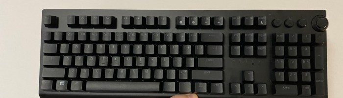Review Razer BlackWidow V3 Pro - tastatura wireless/bluetooth pentru eSports