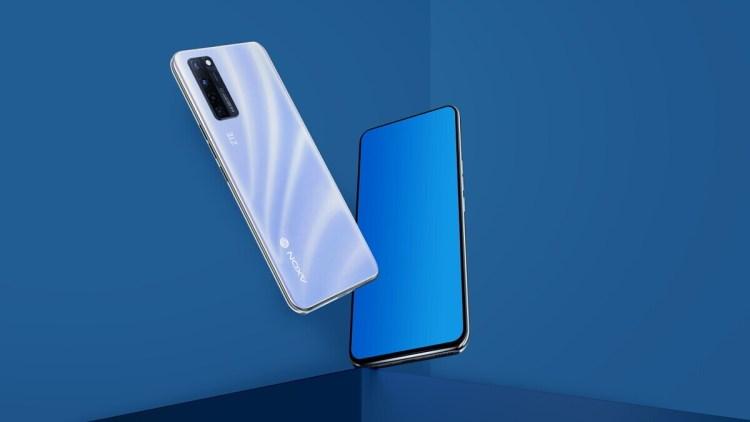 ZTE Axon 20 este un telefon cu camera frontala ascunsa complet in ecran