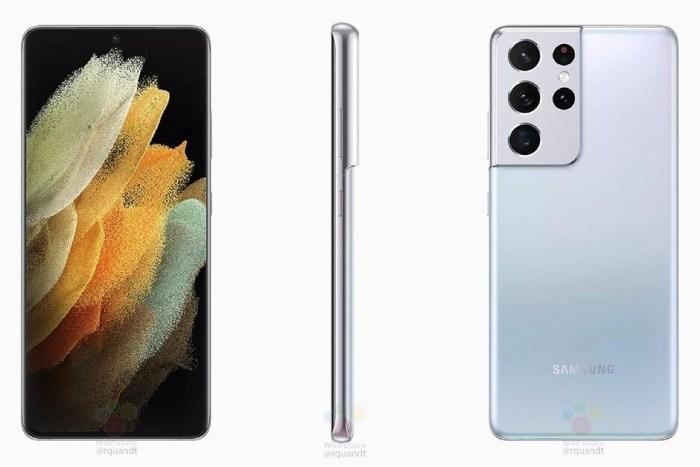 Posibilul design final al seriei Galaxy S21 a fost dezvaluit