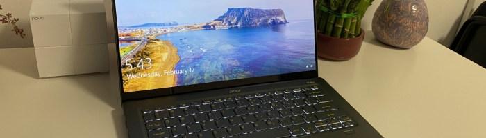 Acer Swift 5 2021 - laptop usor, subtire si cu suprafata antibacteriana