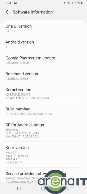 Samsung Galaxy A32 menu (5)