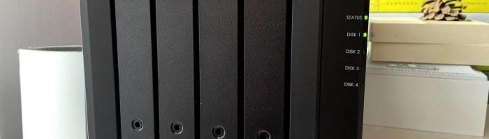 Un datacenter la tine acasă: scurt review NAS Synology DS920+