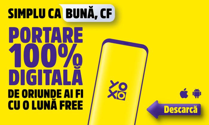 Acum te poți porta în YOXO din orice rețea 100% online + o lună gratis