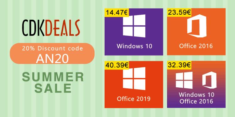 Acum este momentul sa va cumparati licente de Windows 10