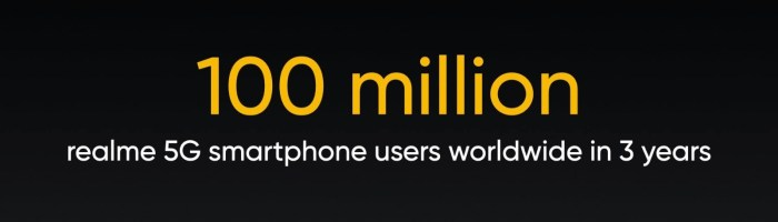 realme promite sa aduca tehnologia 5G la peste 100 de milioane de tineri