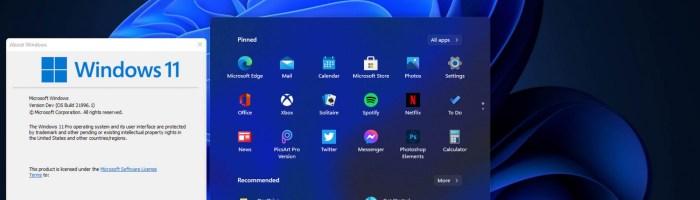 Windows 11 este oficial - au aparut primele imagini