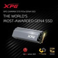 SSD-ul XPG GAMMIX S70 este cel mai premiat model Gen4 din lume