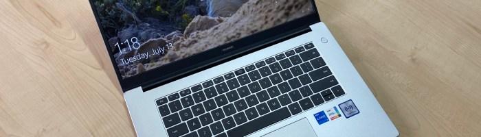 Review Huawei MateBook D15 - un laptop la un pret foarte bun