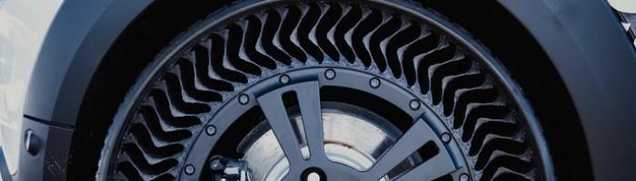 Michelin Uptis - anvelopa revoluționară care nu face pană