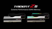 G.SKILL a dezvăluit noua gamă de memorii RAM DDR5 Trident Z5 cu frecvențe de până la 6400 Mhz