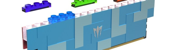 GALAX a lansat module RAM DDR5 cu design LEGO