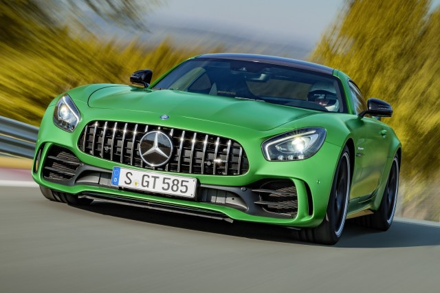 The new Mercedes-AMG GT R (012)