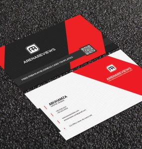 Vallagena & Creative Business Card