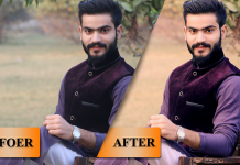 HOW TO ADDING COLOR EFFECTS & PHOTOSHOP RETOUCHING
