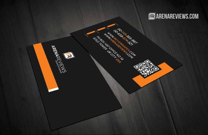Black Corporate Elegant Business Card Template Design