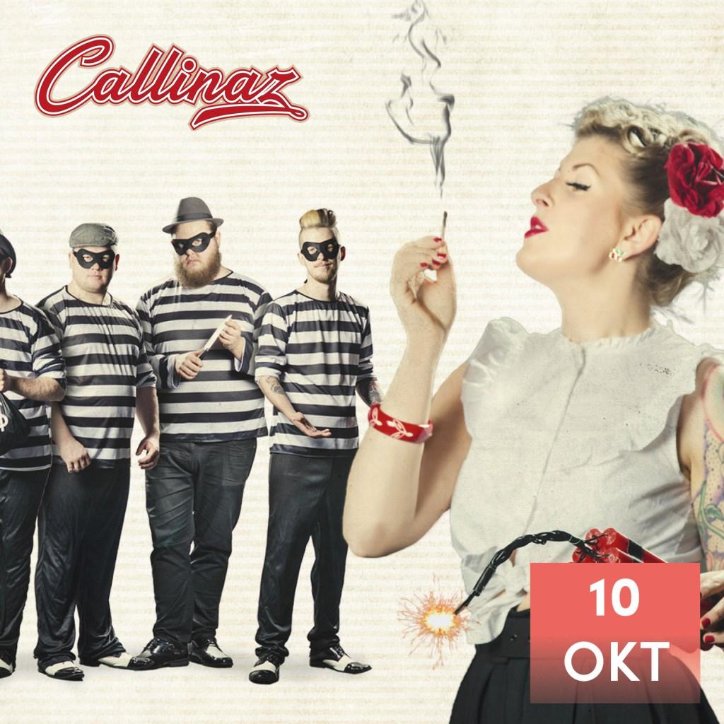 callinaz danskväll 10 oktober 2020