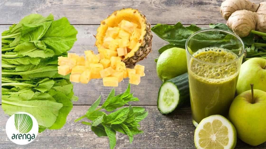 Cara menikmati sayuran hijau mentah