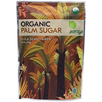 Gula aren bubuk gula semut kemasan 225 gram