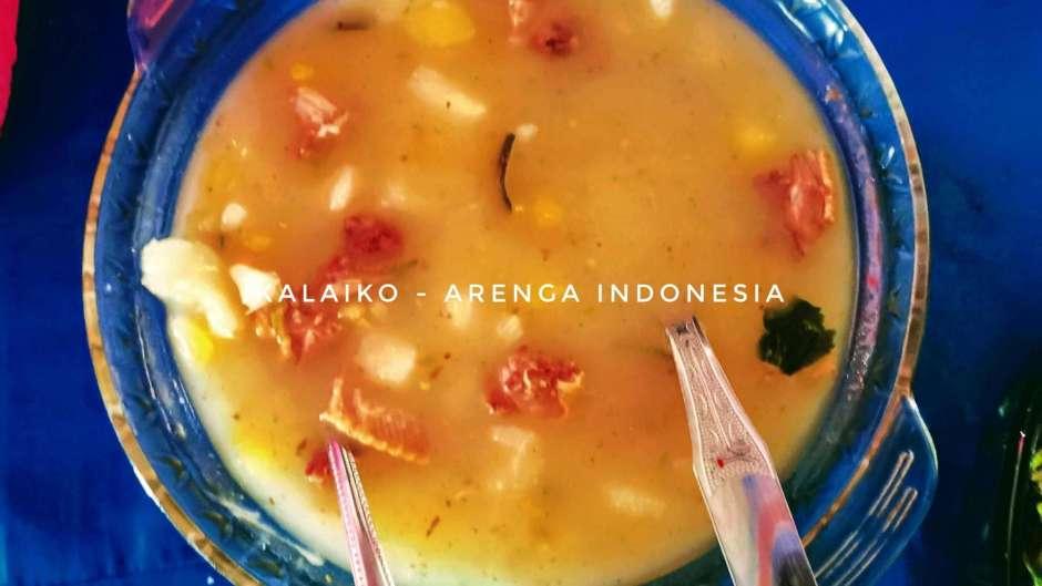 Kalaiko sop ubi jalar dari Lembah Bada Sulawesi Tengah
