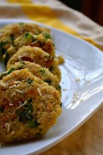 Quinoa Kale Patties