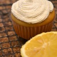 Vegan Lemon Cupcakes with Lemon Buttercream Frosting
