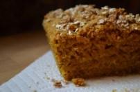 Vegan Pumpkin Oat Bread