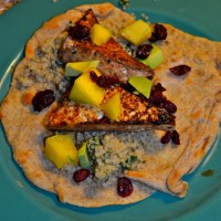 Black Bean and Mango Enchiladas