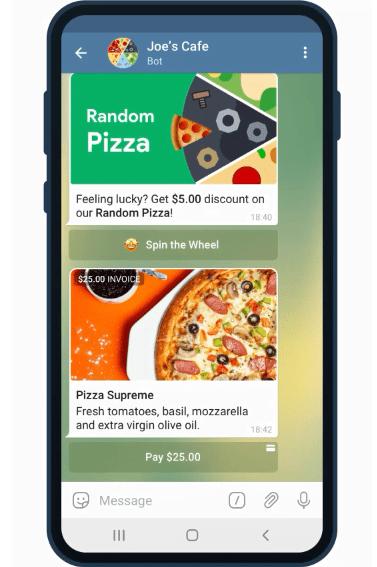 Pagos 2.0 la nueva opción de Telegram