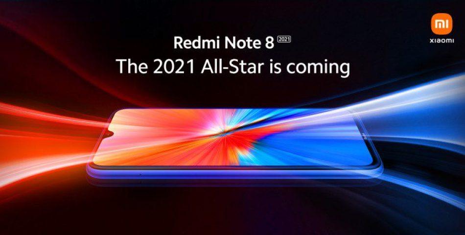 Redmi note 8 edicion 2021