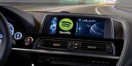 Spotify araç içi müzik çalar çıkarıyor!
