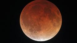 Yeni yılın ilk Kanlı Ay Tutulması gerçekleşti!