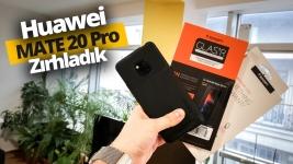 Huawei Mate 20 Pro Spigen ile zırhlandı! (Video)